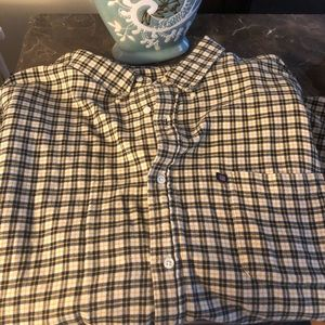 Polo Ralph Lauren plaid button down shirt.